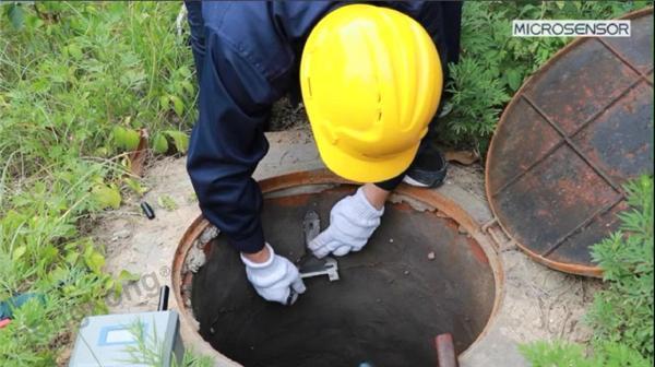 窨井水位及井盖监测 窨井水位监测 窨井在线监测系统