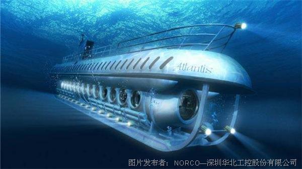 """潜水艇海底观光火热  华北工控""""冰翅""""结构准系统保障控制室"""
