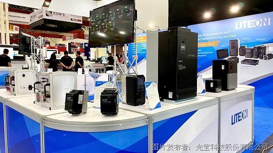 图二:光宝工业自动化变频器EVO 8000S的进阶版本首次亮相,期待满足当地纺织业的需要。.jpg