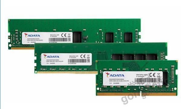 威刚推出工业级DDR4 3200 32GB系列记忆体