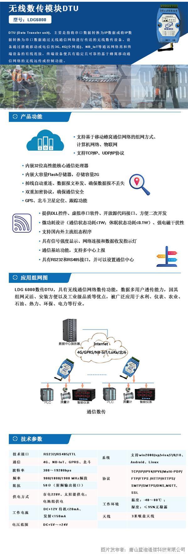 无线数传模块DTU(4G、NB-lot、LoRa)(型号:LDG6000)-1.jpg