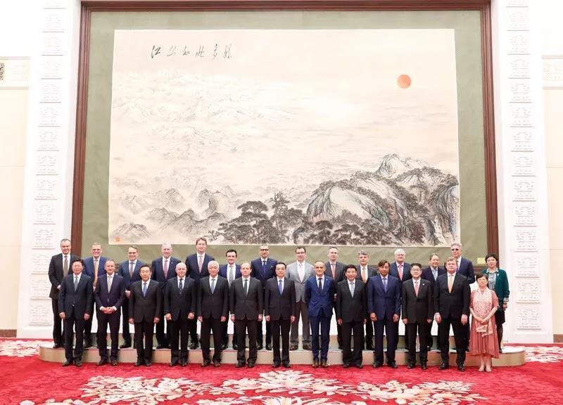 ABB CEO出席全球首席执行官委员会圆桌峰会,看好中国市场前景