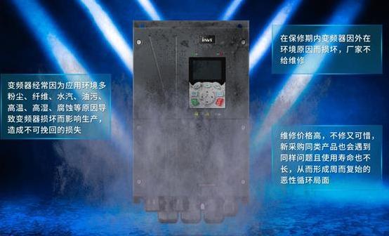 專為嚴酷環境而生 英威騰GD350 IP55專業高防護矢量變頻器