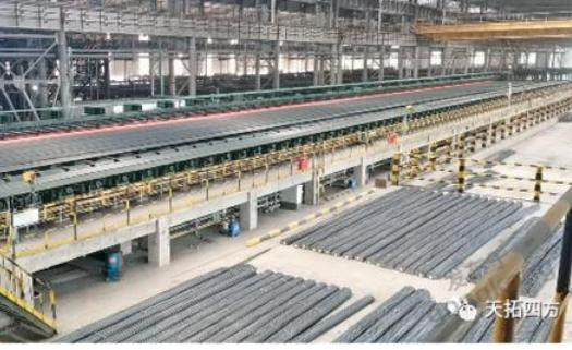 天拓四方攜手西門子助力國內大型鋼鐵生產企業打造全連續生產高速棒線生產線