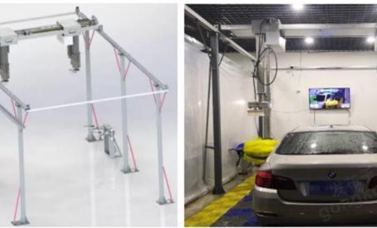 英威腾智能洗车行业解决方案