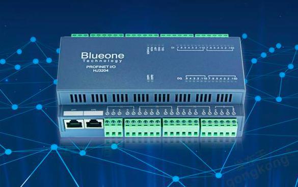 華杰智控推出HJ3203 Profinet遠程IO模塊