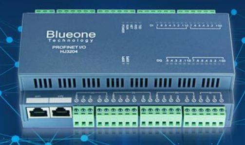 华杰智控的HJ3210B Profinet远程IO模块