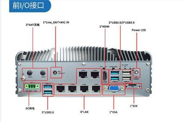 【新品推荐】控汇股份MFC-6900(嵌入式工业箱式电脑)