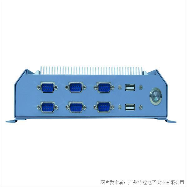 广州特控MEC-H5562嵌入式无风扇工控机
