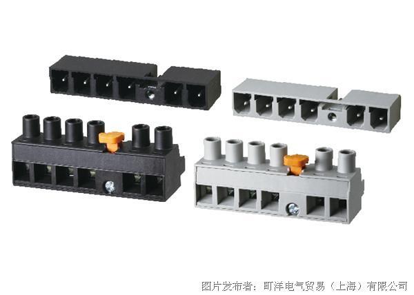 町洋电气 适用于伺服驱动行业的可插拔式端子