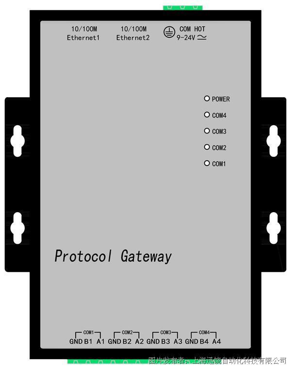 上海迅饶-BAC2004-ARM(1024点通用型网关)