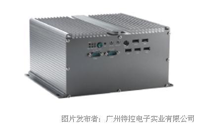 广州特控MEC-H1221双扩展无风扇嵌入式工控机