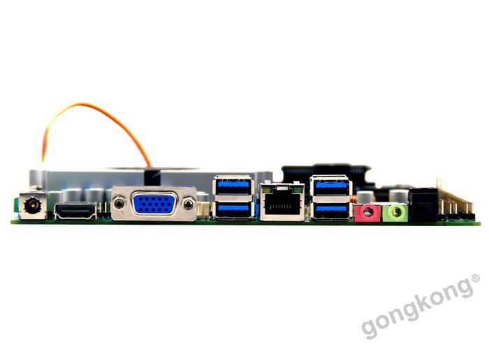 派勤工控MINI-ITX  TOP90B主板千兆网卡4K显示触摸屏接口