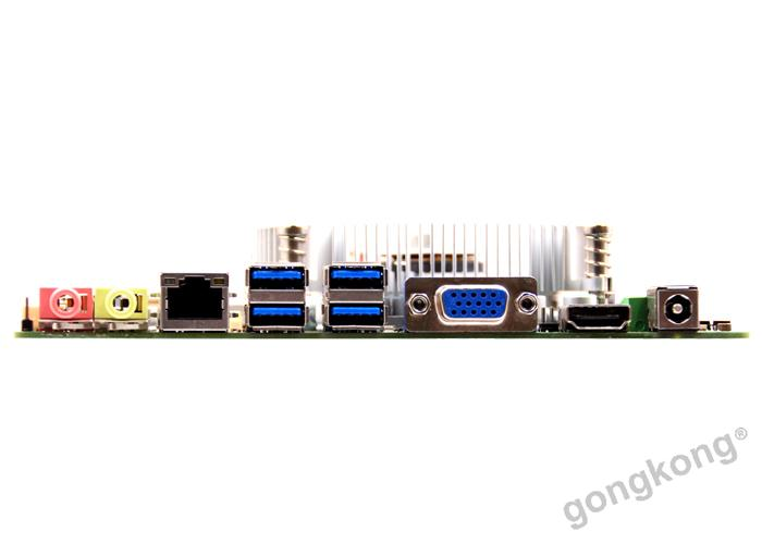 派勤工控MINI-ITX  TOP81B主板H81芯片OPS接口2*MINI-PCIE