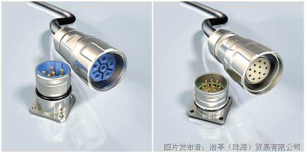 浩亭Han® M23 Power电力圆形连接器