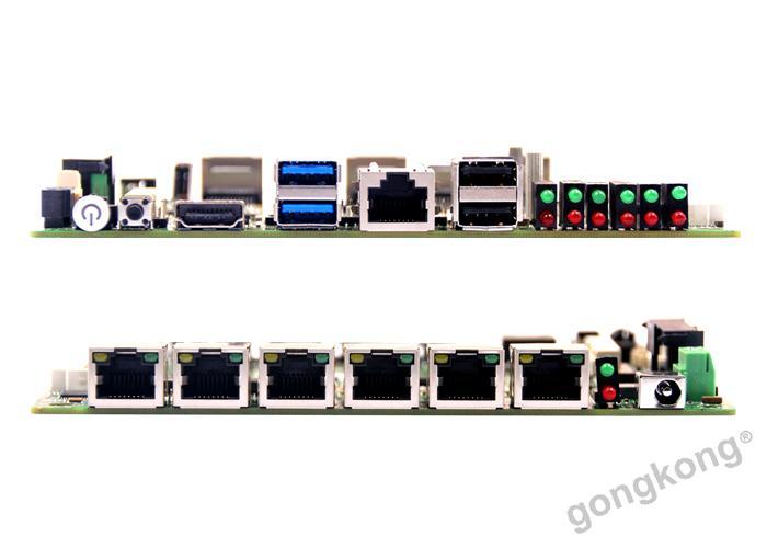 派勤工控Z-3.5寸 6个Intel I211千兆网卡HU90Z3A6L主板