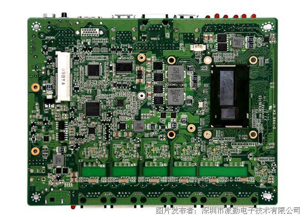 派勤工控6个Intel千兆网口4K显示输出Z-3.5寸 HU80Z3A6L主板