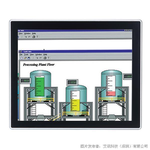 艾讯科技17寸无风扇触控平板电脑GOT317-502-FR