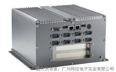 广州研恒MEC-H1221双扩展无风扇嵌入式工控机