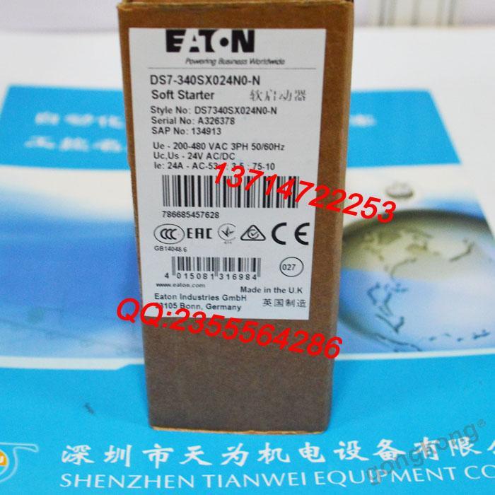EATON美国伊顿-穆勒DS7-340SX024N0-N软启动器