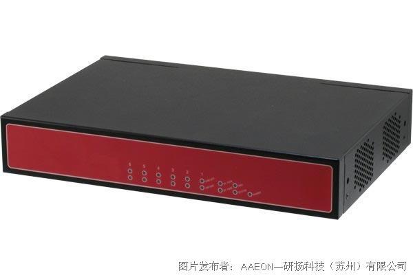 研扬FWS-2350 桌面网安平台