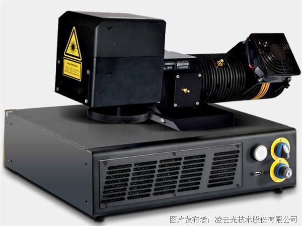 得利捷- V-LASE用于热塑性材料和树脂的高峰值功率激光打标机
