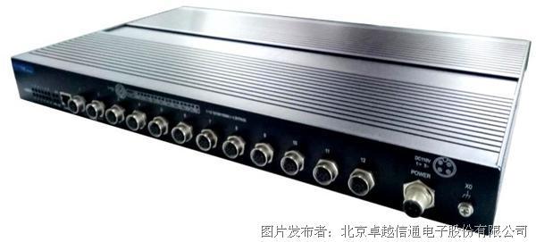 卓越信通Titan40D-12GT-M12网管型工业以太网交换机