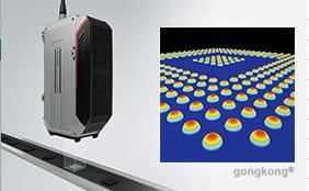 基恩士  WI-5000 系列干涉式同轴 3D 位移测量仪