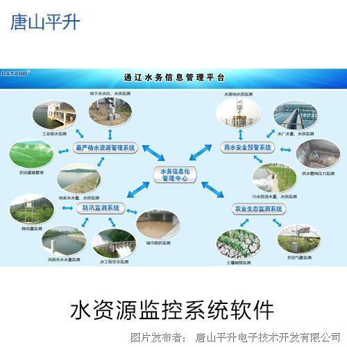 唐山平升智慧水利之水资源管理信息化
