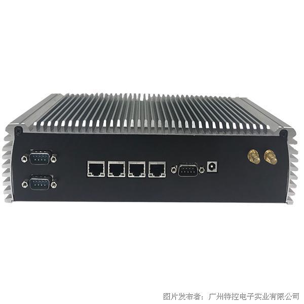 广州特控MEC-H1964多网口无风扇嵌入式工控机