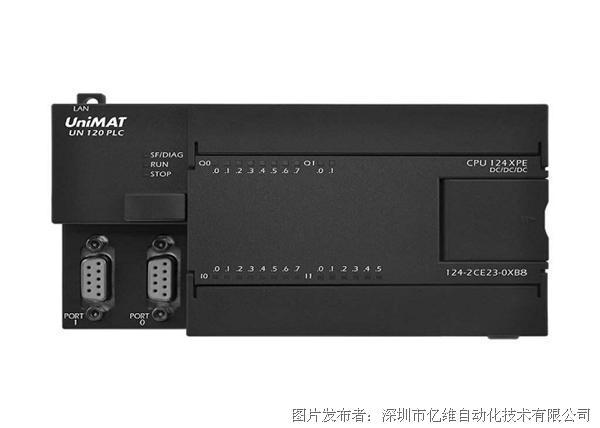 亿维 124XPE-2Q/CPU 124XPE-2R PLC CPU