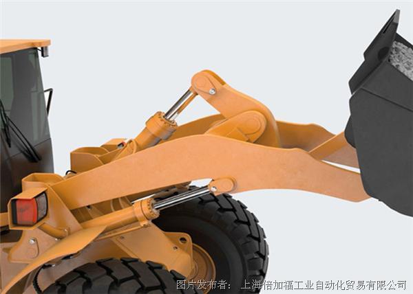 倍加福 用于测量机器和移动设备上活塞位置的超声波传感器