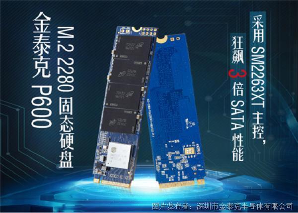 金泰克P600  NVMe SSD