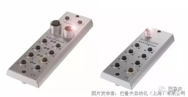 巴魯夫 具有不銹鋼外殼的IP69的網絡模塊