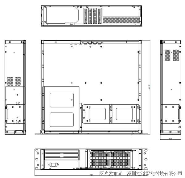 Kondoct控道智能 2U19-510物联控制系统