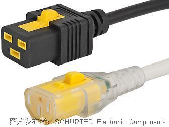 SCHURTER V型锁电线固定系统