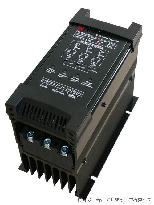 well唯乐三相全功能型电力调整器SCR40A