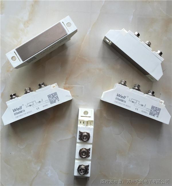 well唯乐 STT60GK16全控晶闸管模块