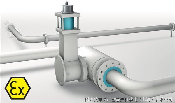 巴鲁夫 用于易爆区域的磁致伸缩线性位置测量系统