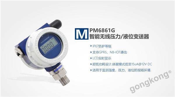 麦克 MPM6861G无线压力变送器
