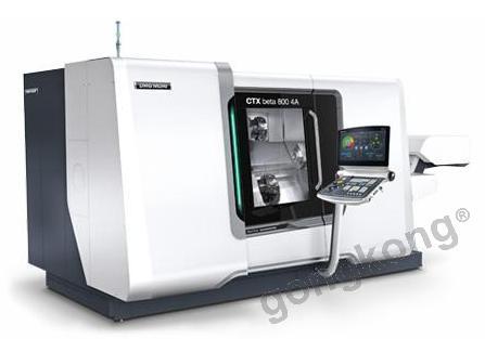 德玛吉森精机CTX beta 800 4A生产型车削中心