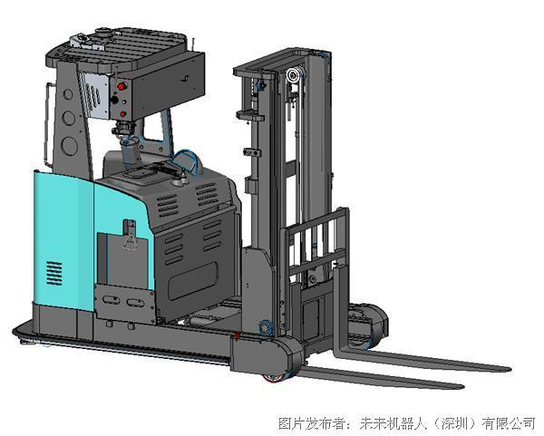 未來機器人 視覺導航前移式無人叉車