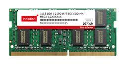 宜鼎国际DDR4 ECC SODIMM工业用内存模块