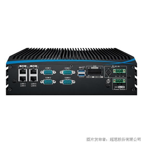 超恩ECX-1000-第8代6核心工作站等级嵌入式系统