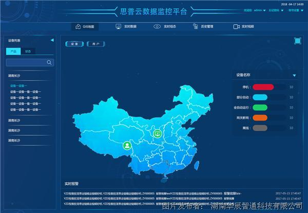 思普云:中小企业自己的工业大数据应用平台