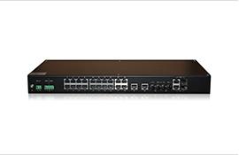 迈森MS26AC-2MSC-2GC非网管型机架式工业级以太网交换机
