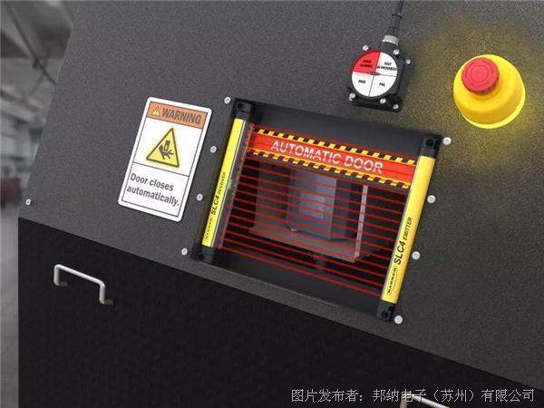 邦纳SLC4微型四级安全光幕