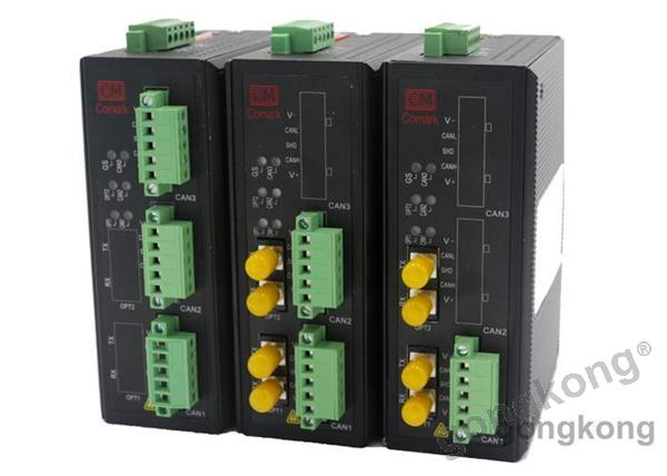 讯记profibus dp总线电气信号与光纤信号的转换器