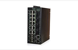 迈森 MS22M-4SSC-4GP千兆网管型导轨式工业级以太网交换机