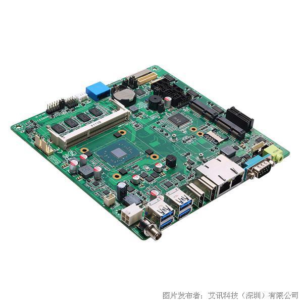艾讯科技MANO311超薄经济型Mini-ITX工业主机板